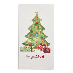 Christmas Tree Paper Guest Napkins, Set of 20