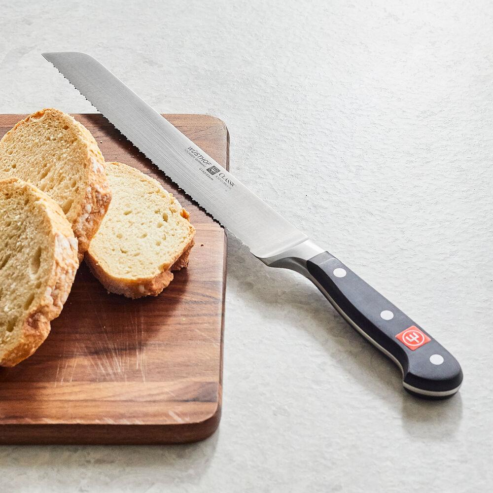 "Wüsthof Classic Double-Serrated Bread Knife, 9"""