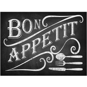 Bon Appétit Vinyl Placemats, Set of 4