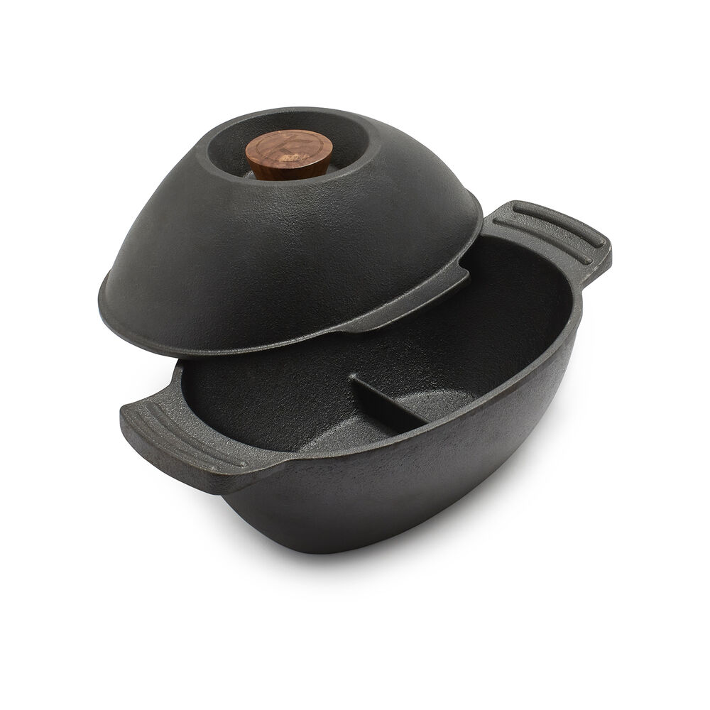 Cast Iron Seafood Pot