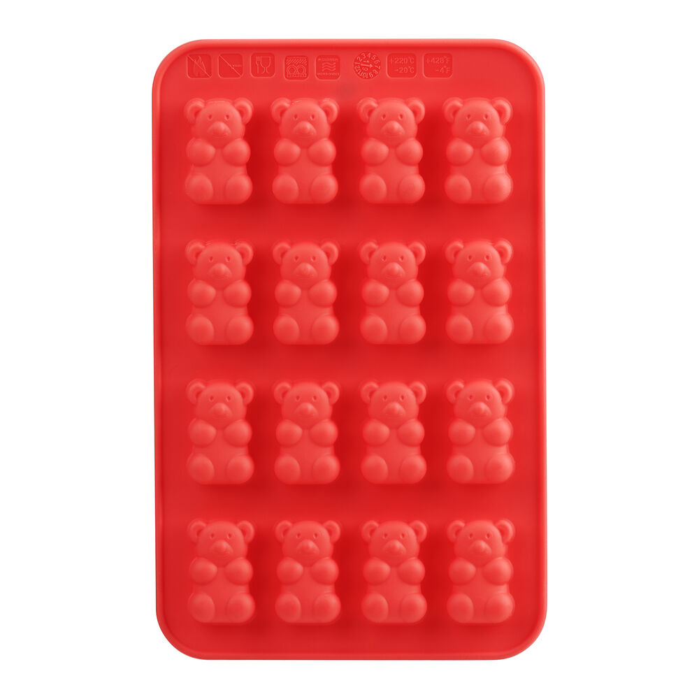 Gummy Bear Silicone Mold, Set of 2