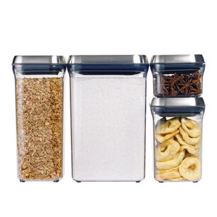 OXO SteeL Pop Containers, Square
