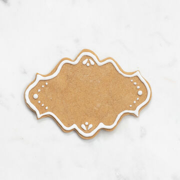 """Oval Plaque Cookie Cutter, 4"""""""