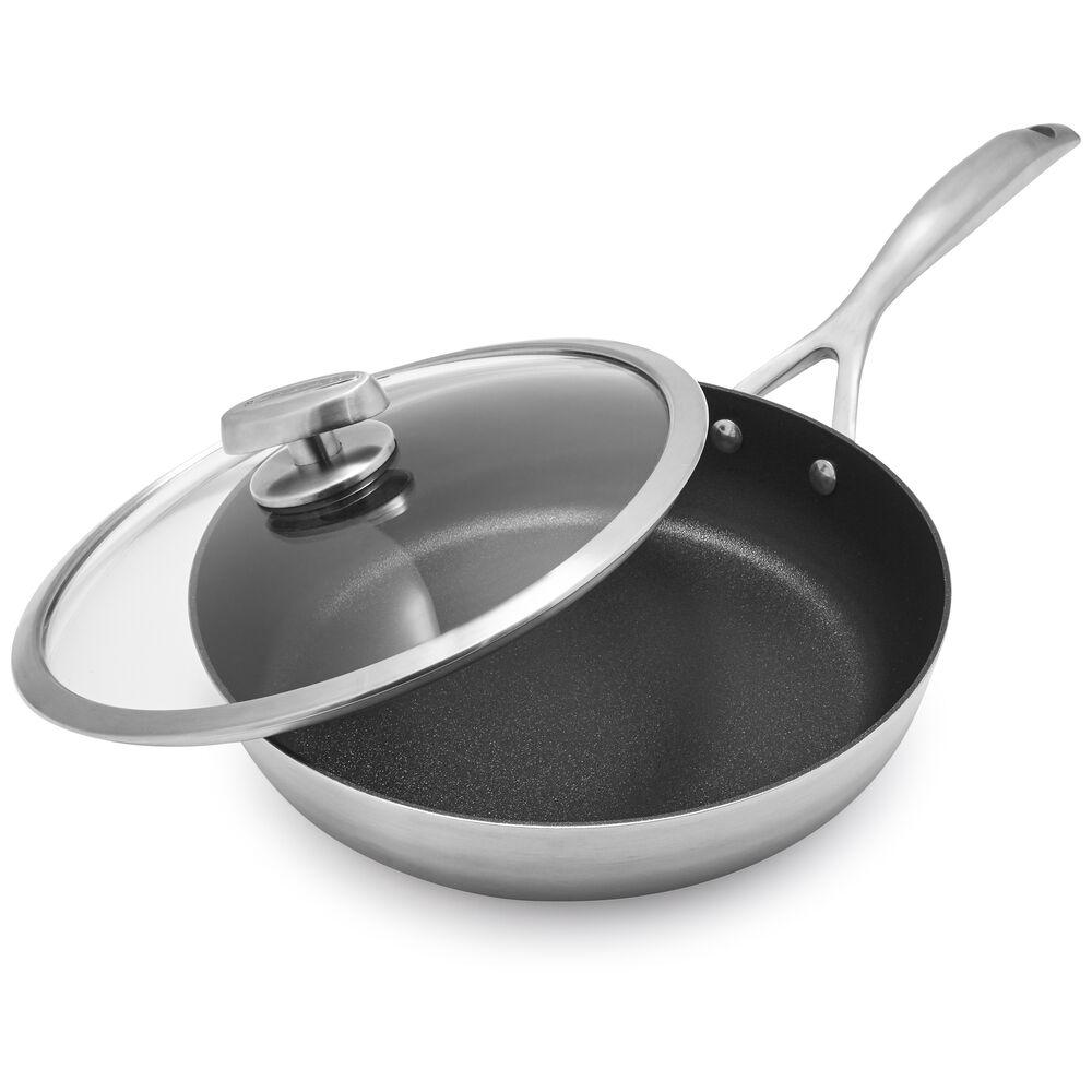 Scanpan CS+ Sauté Pan with Lid, 3 qt.
