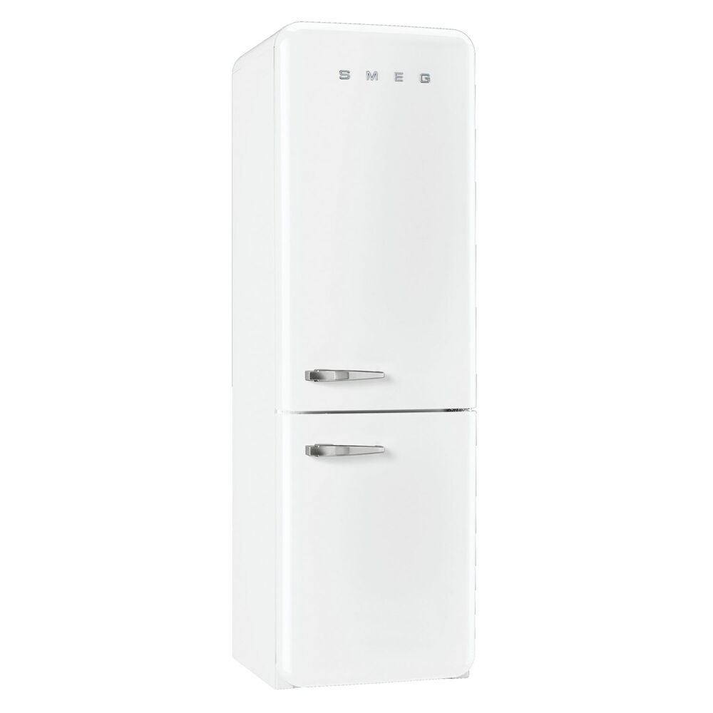 SMEG Two-Door Refrigerator with Frost-Free Freezer, Right-Hand Hinge