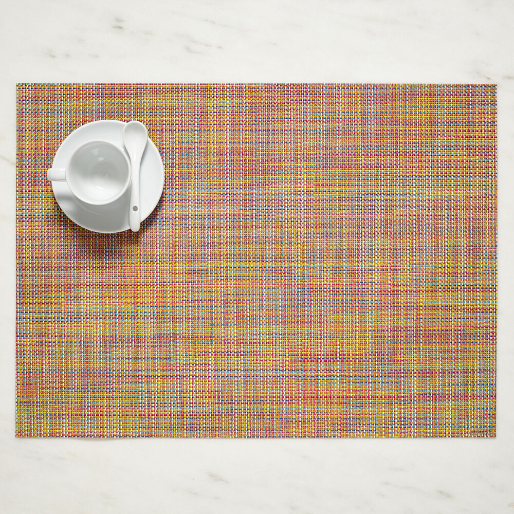 "Chilewich Mini Basketweave Placemat, 19"" x 14"""