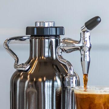 uKeg Nitro Cold Brew Coffee Maker by GrowlerWerks, 50 oz.