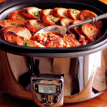 All-Clad Slow Cooker with Aluminum Insert
