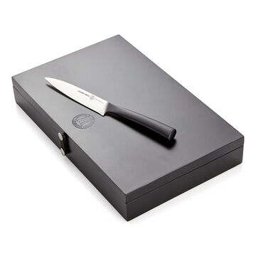 Schmidt Brothers Cutlery Carbon 6 6-Piece Steak Knife Set in Wood Gift Box