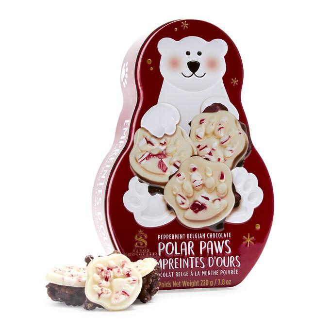 Saxon Chocolate Peppermint Polar Paws