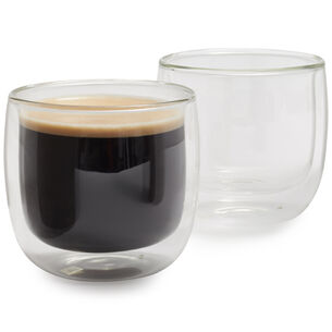 Zwilling J.A. Henckels Sorrento Double-Wall Coffee Glasses, 8.1 oz., Set of 2