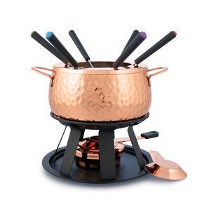 Swissmar 11-Piece Biel Copper Fondue Set