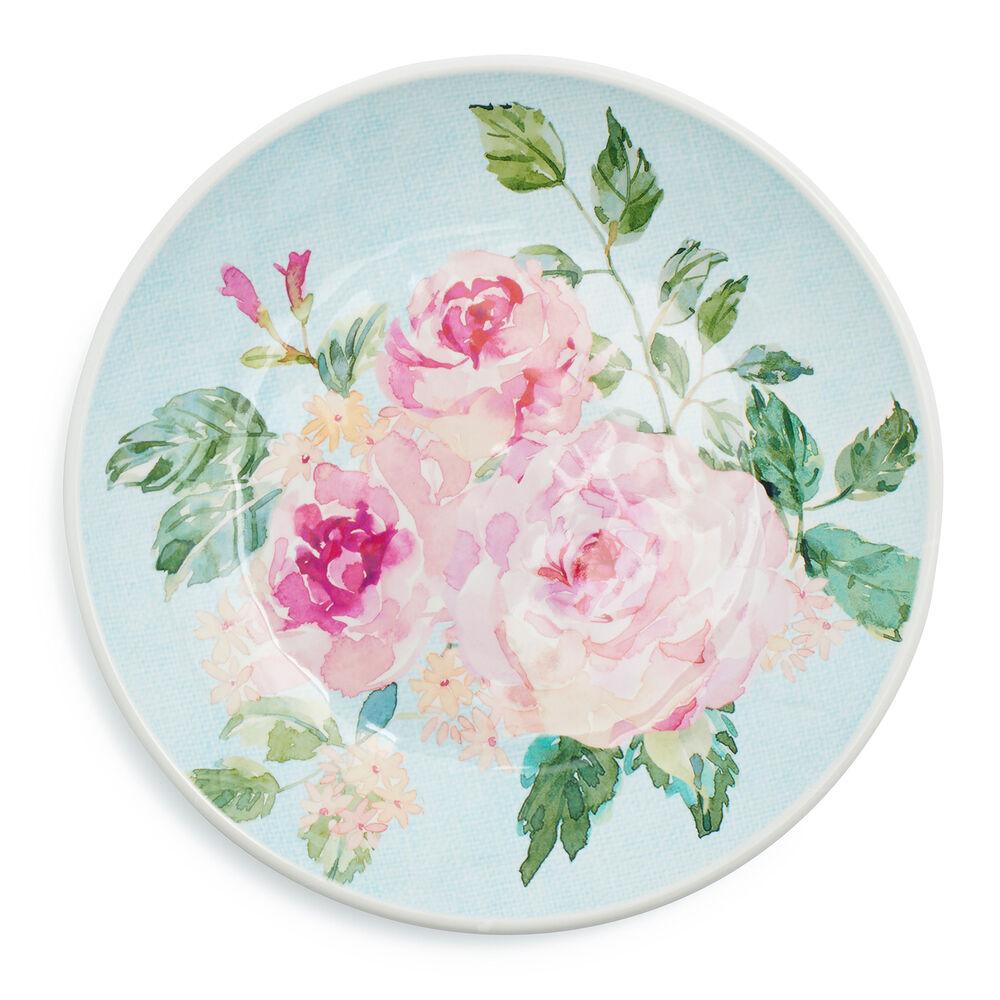 Rose Nuage Melamine Dinnerware, Set of 12