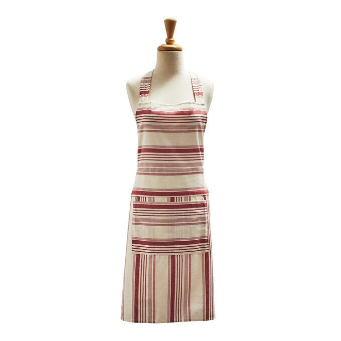 """Vintage Stripe Apron, 32"""" x 19"""""""
