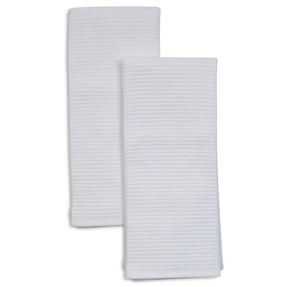 "Waffle Kitchen Towels, 26"" x 16"", Set of 2"