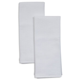 "Waffle Kitchen Towels, 26"" x 16"", Set of 2"