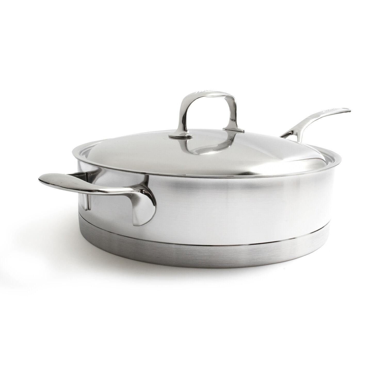 Demeyere Atlantis 2.6-Quart Saut/é Pan with Lid