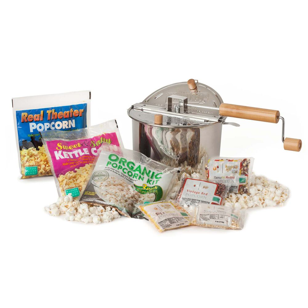 Stainless Steel Whirley Pop Variety Pack