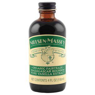 Nielsen-Massey Organic Madagascar Bourbon Pure Vanilla Extract, 4 oz.