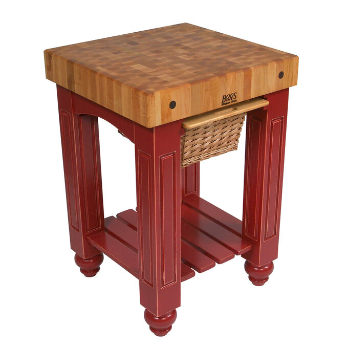 "John Boos & Co. Gathering Block Table, 25"" x 24"""