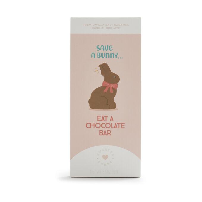 Sweeter Cards Sea Salt Dark Chocolate Bar, 3.5 oz.