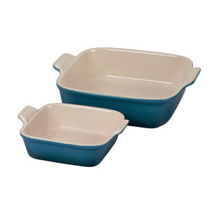 Le Creuset Square Bakers, Set of 2