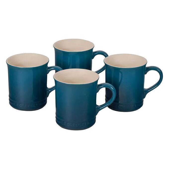 Le Creuset Tea Mugs, 14 oz., Set of 4