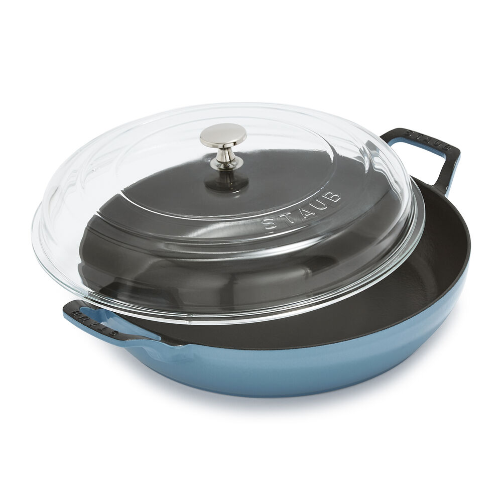 Staub Heritage All-Day Pan with Domed Glass Lid, 3.5 qt.