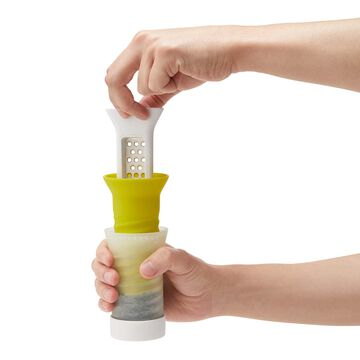 Chef'n Frozen Herb Keeper with Grater