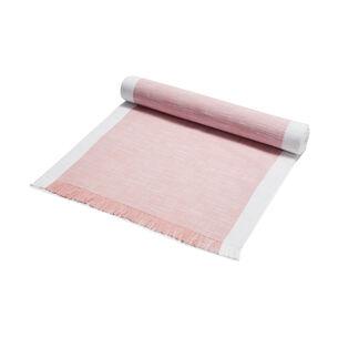 """Pink Chalk Runner, 108"""" x 16"""""""