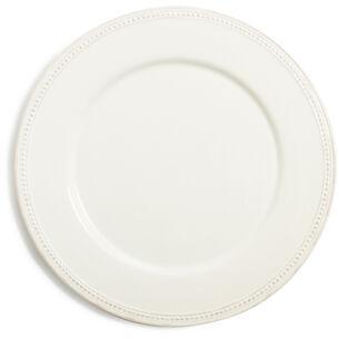 Pearl Stoneware Plate