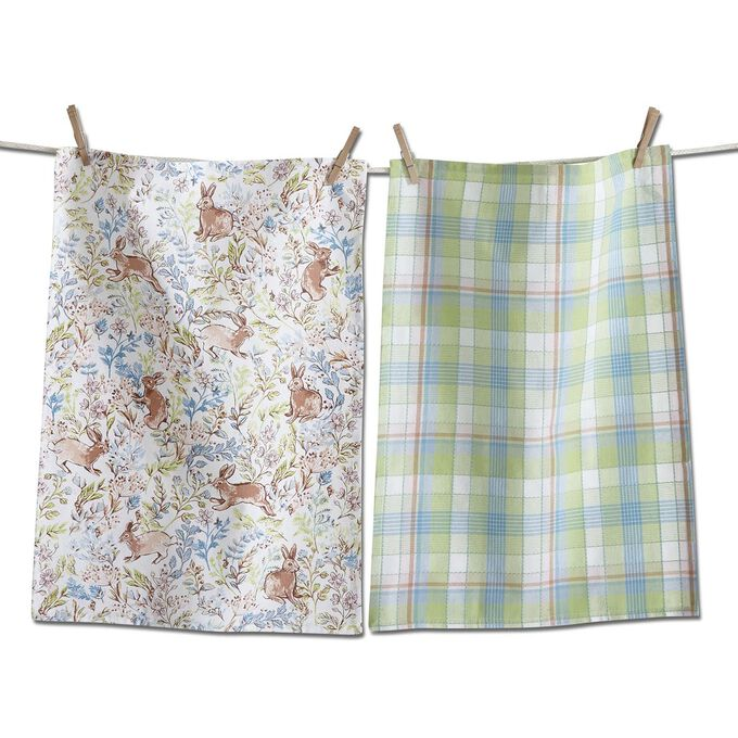 Meadow Kitchen Towels, Set of 2