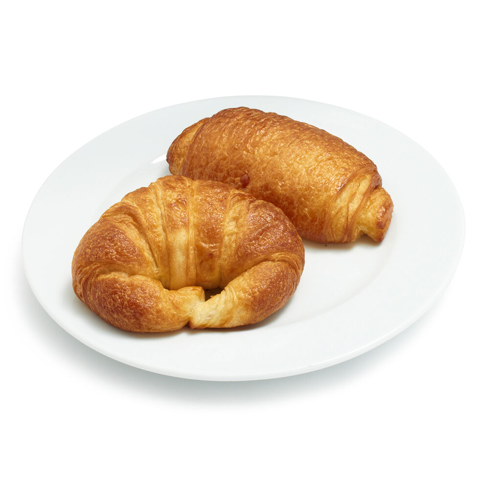 Gaston's Bakery Plain and Chocolate Croissants, Set of 15