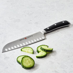 Wüsthof Classic Ikon Hollow-Edge Santoku Knife