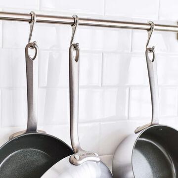 GreenPan Craft Steel 10-Piece Cookware Set with Bonus Pan Protectors
