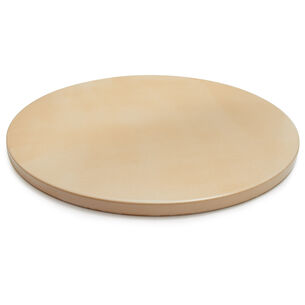 Sur La Table Round Glazed-Cordierite Pizza Stone, 16½""