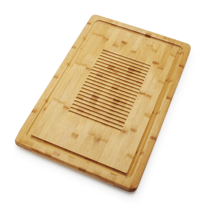Sur La Table Bamboo Reversible Cutting Board