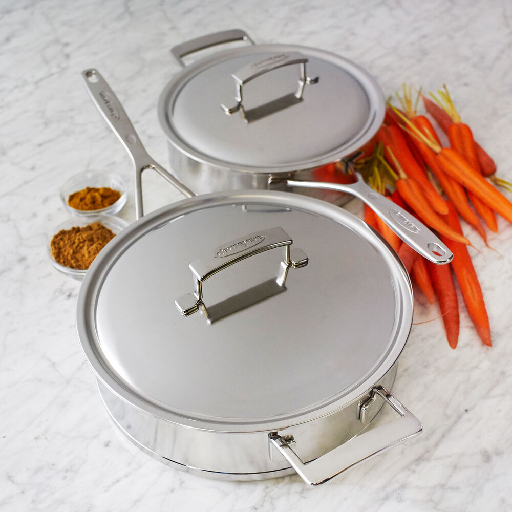 Demeyere Silver7 Covered Sauté Pan