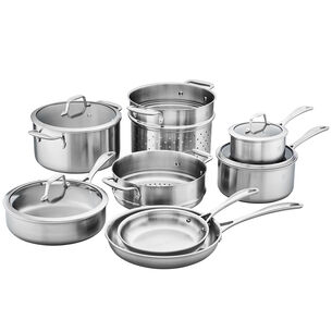 Zwilling Spirit Stainless Steel 12-Piece Cookware Set