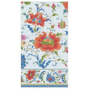 Chinese Ceramic Guest Napkins, Set of 15