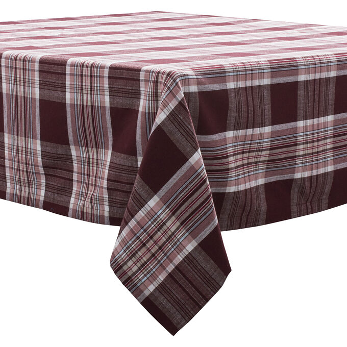 Fall Harvest Plaid Tablecloths
