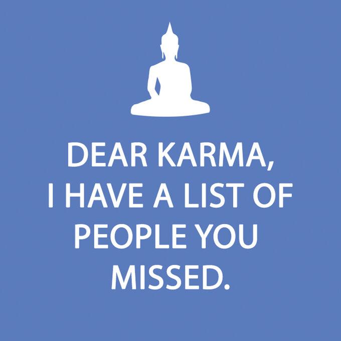 Dear Karma Paper Cocktail Napkins