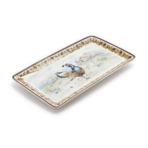 Quail Rectangular Platter