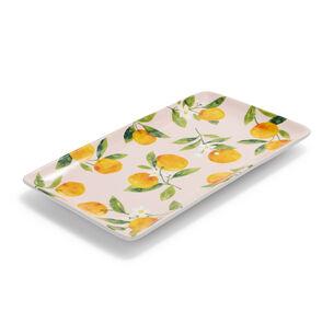 "Citrus Rectangular Platter, 14"" x 8"""