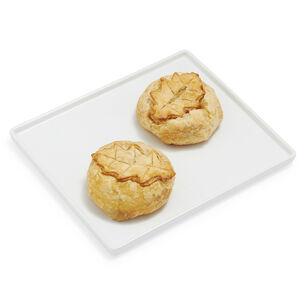 Brie En Croute Set of 2, Medium Mushroom & Medium Pine Nut