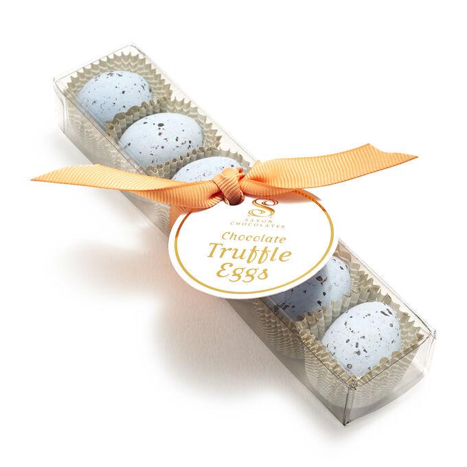 Chocolate Truffle Robin Eggs, 6 Pieces