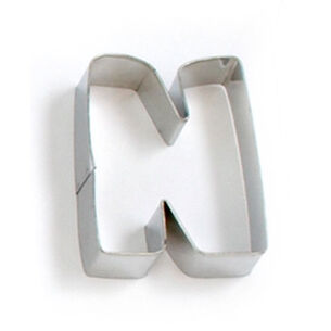 Alphabet Cookie Cutters, 3""