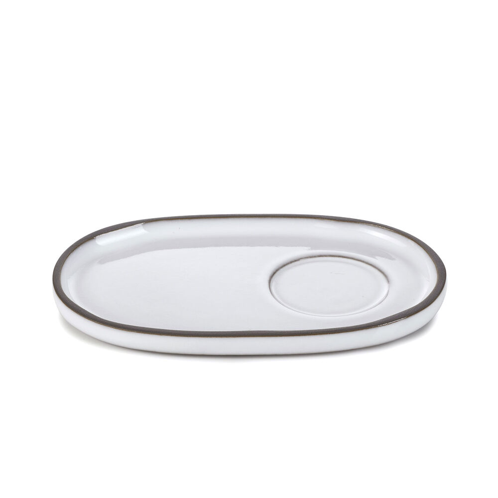 Revol Caractère Oval Saucers, Set of 4