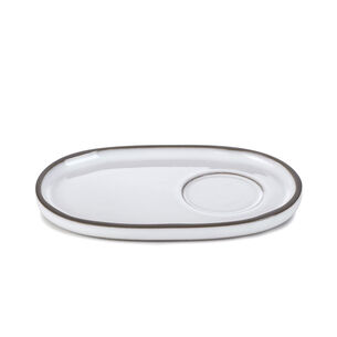 Revol Caractère Oval Saucers, Set of 4