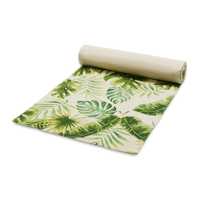 "Palm Leaf Table Runner, 108"" x 16"""